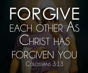 bible, forgive, and Christ image