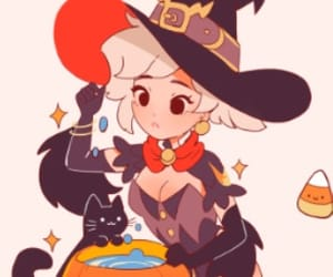 Halloween, mercy, and vickisigh image