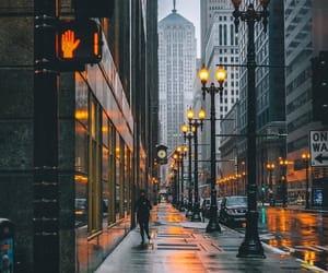 christmas, cold, and rain image