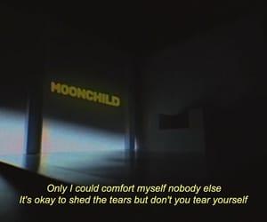 film, moonchild, and Lyrics image