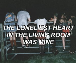 alone, lonely, and lyric image