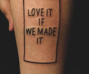 tattoo, the 1975, and the 1975 tattoo image