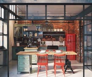 apartment, flat, and livingroom image