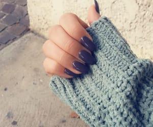 fall, indigo, and nails image