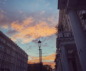 autumn, evening, and london image