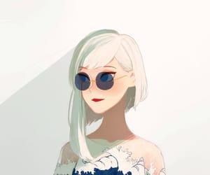 art, anime, and drawing image
