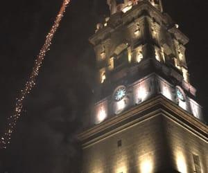 fireworks, journey, and lights image