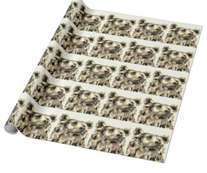 bear wrapping paper image