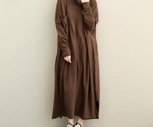 etsy, maxi dress, and sweater dress image