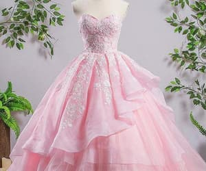 prom dress for cheap, prom dress lace, and prom dress pink image