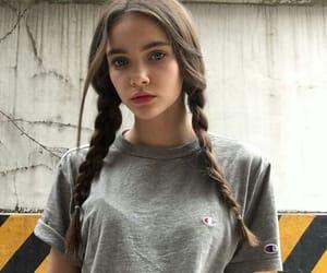 aesthetic, braids, and beautiful image