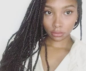 beauty, braids, and instagram image