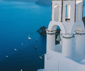 azure, blue, and Greece image