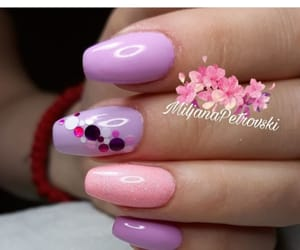 nails, glitternails, and nailsmpetrovski image