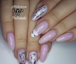 unicornnails, foilnails, and unicorn image