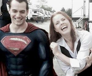 Amy Adams, Henry Cavill, and superman image