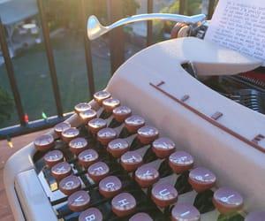 aesthetic, typewriter, and alternative image