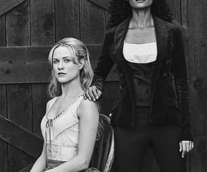 Evan Rachel Wood, westworld, and thandie newton image