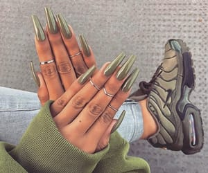 fashion, nails, and goals image