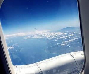 airplane, amazing, and sky image