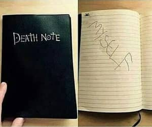 meme, death note, and funny image