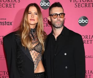 Behati Prinsloo, couple, and Victoria's Secret image
