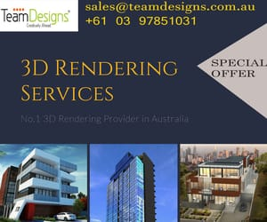 3D render, 3d rendering, and 3d rendering services image