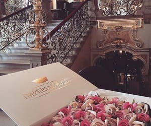 rose, luxury, and flowers image