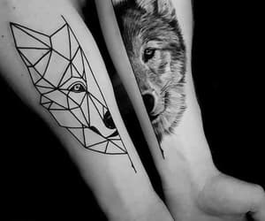 black, tatuaggi, and black and white image