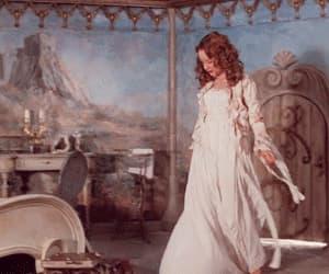 dress, the secret of moonacre, and gif image
