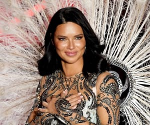 Adriana Lima and fashion image