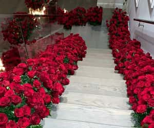 rose, kylie jenner, and flowers image