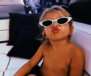 reign disick, baby, and sunglasses image