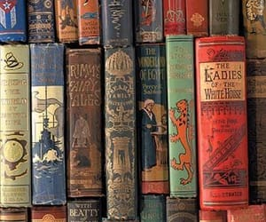 books, old, and vintage image
