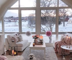 candles, cozy, and home image