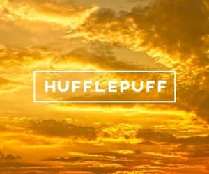 harry potter, yellow, and aesthetic image
