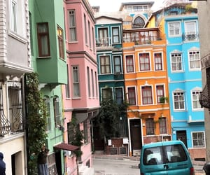 architect, colorful, and house image