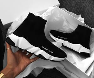 shoes, Balenciaga, and black image