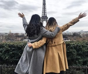 paris, best friends, and bff image