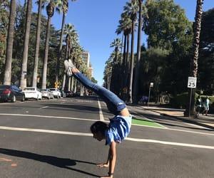 gymnastics, handstand, and back flexibility image