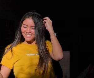 french girl, yellow, and tommy hifilger image