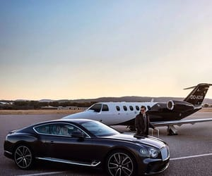 Bentley, black, and car image