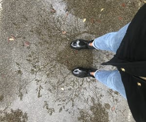 cold, cozy, and rain boots image