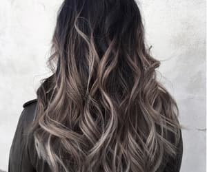 curly hair, hair inspiration, and hair dye image
