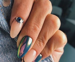beauty, glitter, and nail art image