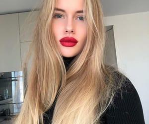beauty, blonde, and like image