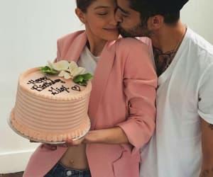 gigi hadid, couple, and zayn malik image