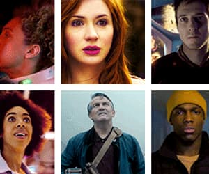 doctor who, the doctor, and clara oswald image