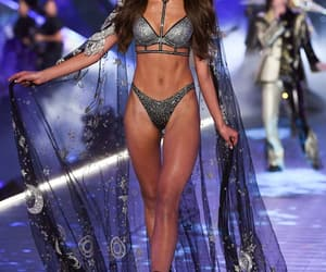lingerie, models, and runway image
