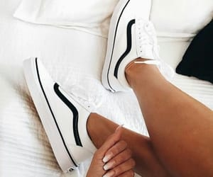 shoes, vans, and nails image